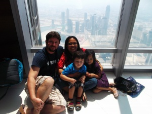 On top of the world - Burj Khalifa
